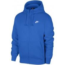 Sweat Nike Sportswear Club Zippé Bleu