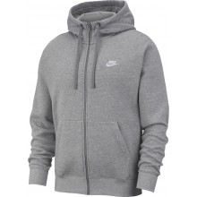 Sweat Nike Sportswear Club Zippé Gris