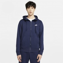 Sweat Nike Sportswear Club Zippé Marine