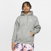 Sweat Nike Club à Capuche Gris