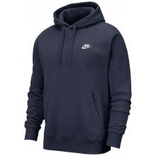 Sweat Nike Club à Capuche Marine