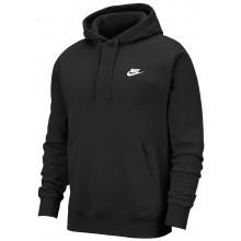 Sweat Nike Club à Capuche Noir