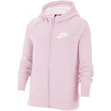 Sweat Nike Junior Fille à Capuche Zippé Rose