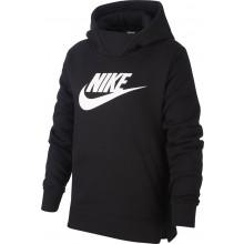 Sweat Nike Junior Fille à Capuche Noir