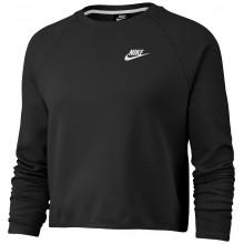Cropped Top Sweat Nike Femme Tech Fleece Noir