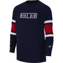 Sweat Nike Junior Air Ras du Cou Marine