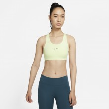 Brassière Nike Swoosh Verte