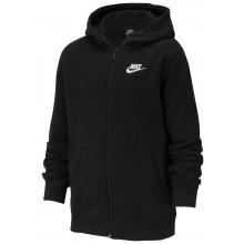 Sweat Nike Junior à Capuche Zippé Noir