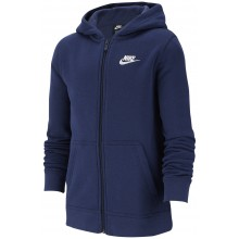 Sweat Nike Junior à Capuche Zippe Marine