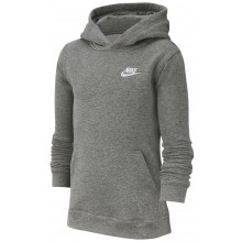 Sweat Nike Club Junior à Capuche Charbon