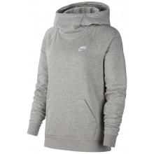 Sweat Nike Femme Essentiel Fleece à Capuche Gris
