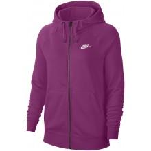 Sweat Nike Femme Sportswear à Capuche Zippé Violet