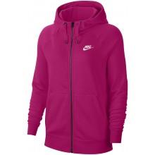 Sweat à Capuche Nike Femme Sportswear Essential Zippé Rose