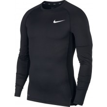 Tee-Shirt Nike Compression Manches Longues Noir