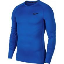 Tee-Shirt Nike Compession manches Longues Bleu