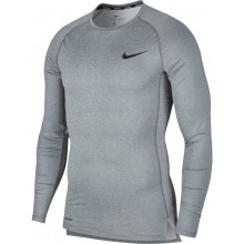 Tee-Shirt Nike Compression Manches Longues Gris