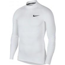 Tee-Shirt Nike Pro à Manches Longues Blanc