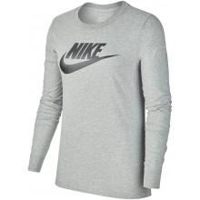 Tee-Shirt Nike Femme Sportswear Manches Longues Gris