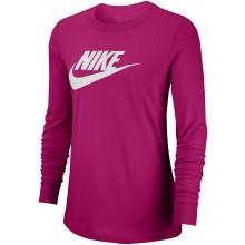 Tee-Shirt Nike Femme Sportswear Manches Longues Rose