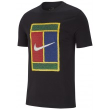 Tee-Shirt Nike Court Heritage Logo Noir