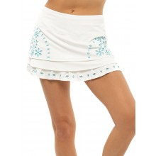 Jupe Lucky In Love Eyelet Tier Blanche
