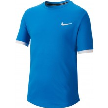 Tee-Shirt Nike Court Junior Dry Bleu