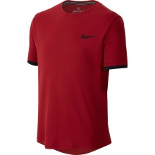 Tee-Shirt Nike Court Junior Dry Rouge