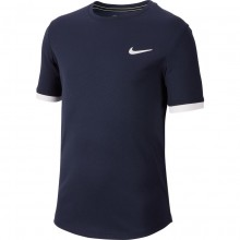 Tee-shirt Nike Court Junior Dry Marine