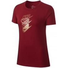 Tee-Shirt Nike Femme Shine Rouge