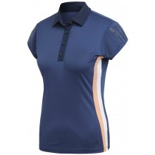 Polo Adidas Femme 3 Stripes Club Indigo