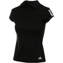 Polo Adidas Femme 3 Stripes Club Noir