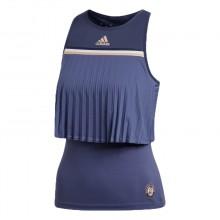 Débardeur Adidas Roland Garros Kerber Femme Indigo