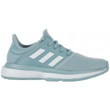 Chaussures Adidas Junior Solecourt Toutes Surfaces Bleues
