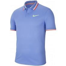 Polo Nike Paris Del Potro Bleu