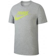 Tee-Shirt Nike Court Tennis GFX Gris