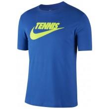 Tee-Shirt Nike Court Tennis GFX Bleu
