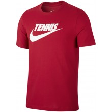 Tee-Shirt Nike Court Tennis Rouge