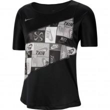 Tee-Shirt Nike Femme Noir
