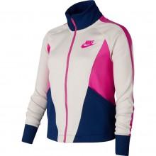 Veste Nike Junior Fille Sportswear Hertiage Zippée Beige