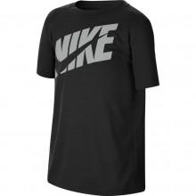 Tee-Shirt Nike Junior Logo Noir