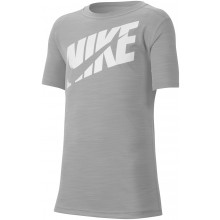 Tee-Shirt Nike Junior Logo Gris