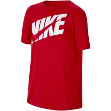Tee-Shirt Nike Junior Logo Rouge