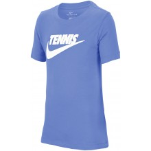 Tee-Shirt Nike Junior Tennis Bleu