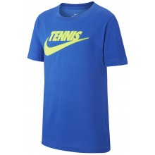 Tee-Shirt Nike Court Junior Tennis GFX Bleu