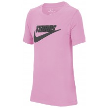 Tee-Shirt Nike Court Junior Tennis GFX Rose