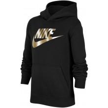 Sweat à Capuche Nike Junior Garçon Sportswear Noir