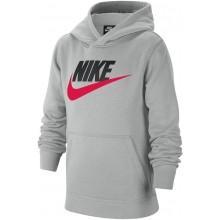 Sweat Nike Junior Garçon Sportswear Club à Capuche Gris