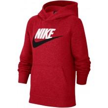Sweat Nike Junior Garçon Sportswear Club à Capuche Rouge