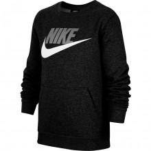 Sweat Nike Junior Sportswear Club Fleece Noir