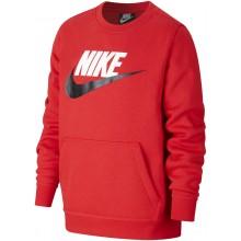 Sweat Nike Junior Sportswear Club Fleece Rouge